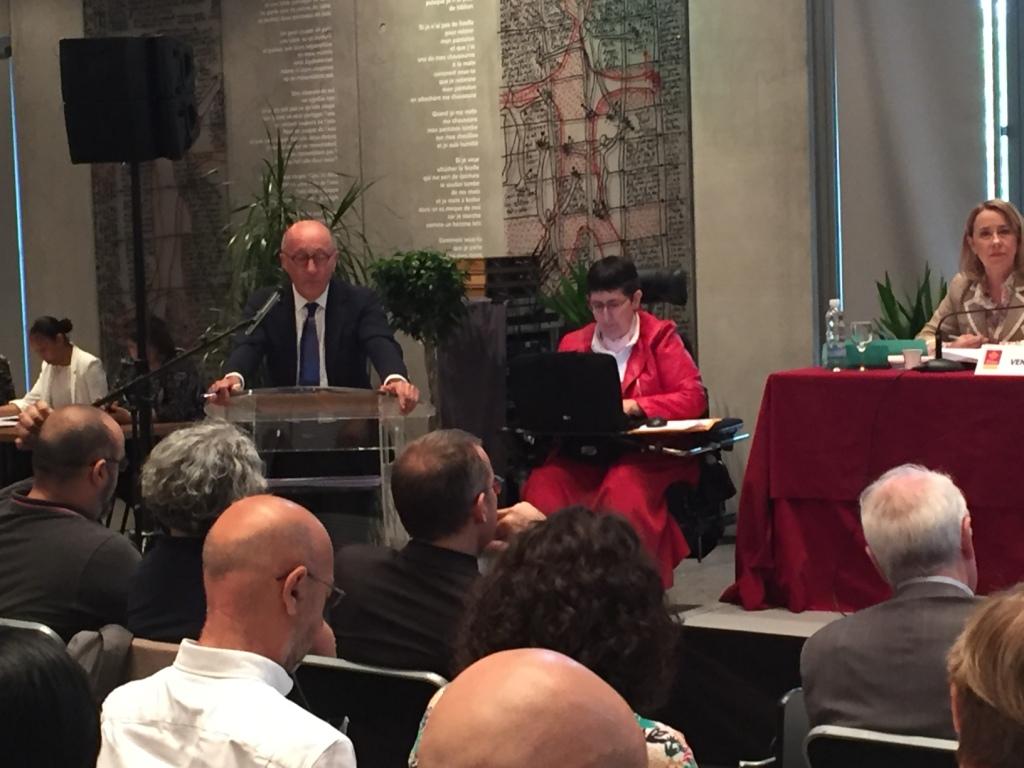 Odile Maurin plénière du CESER 18 juin 18