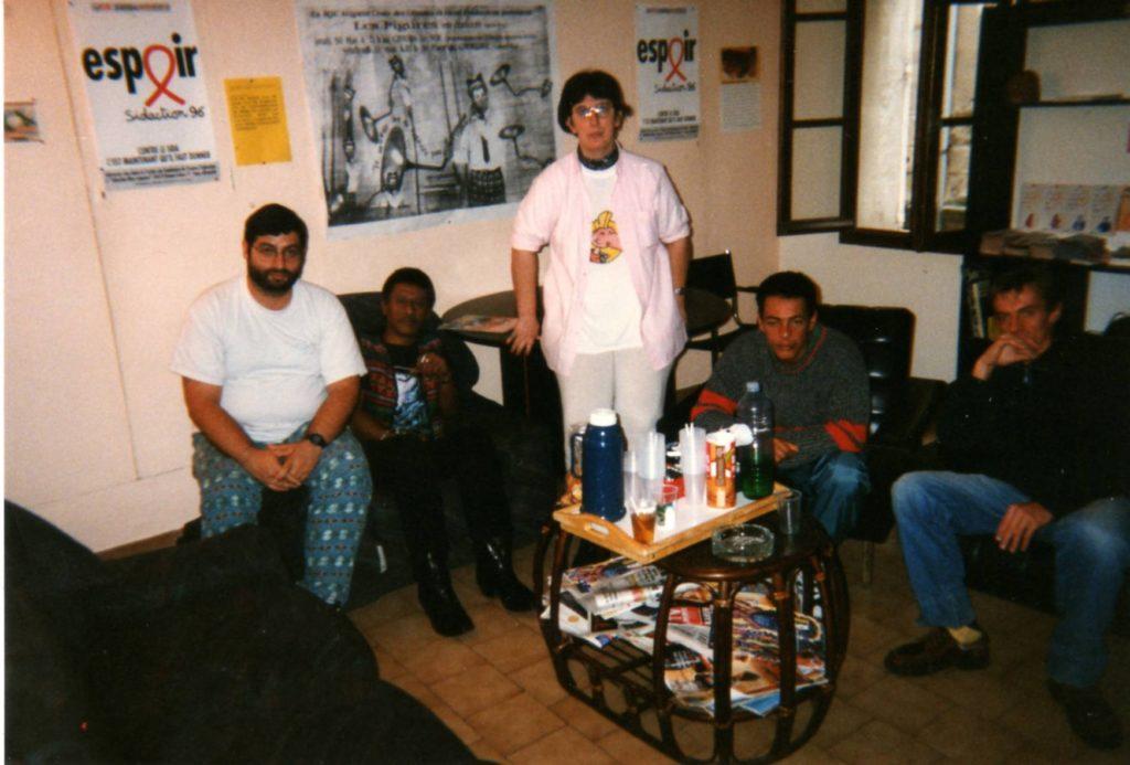 local d'Asud Avignon 1996