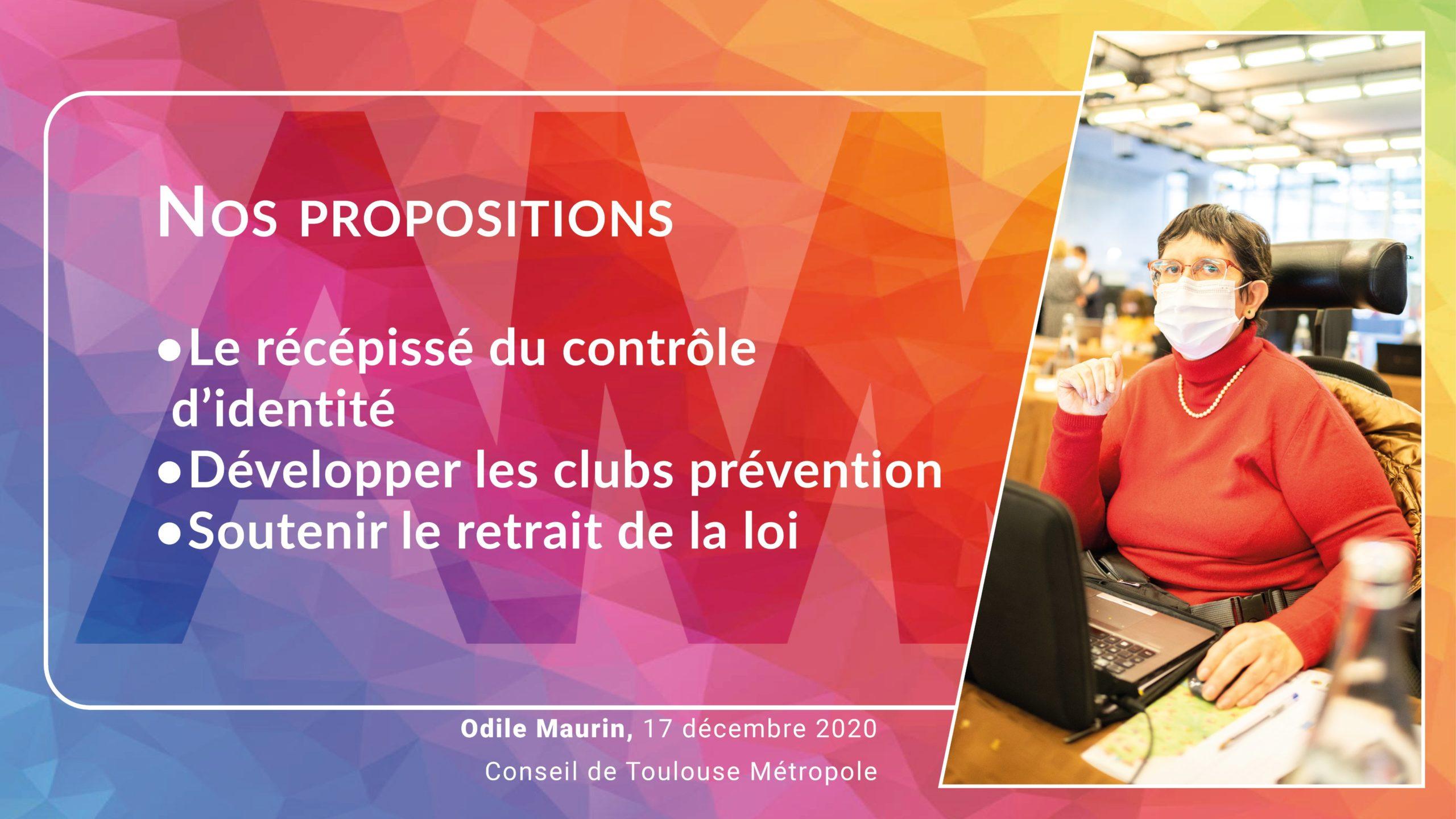 Conseil de Toulouse Métropole – 17 décembre 2020 – mes interventions