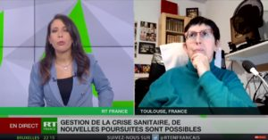journal de RT FRance interview O Maurin le 27nov20 / plainte Covid