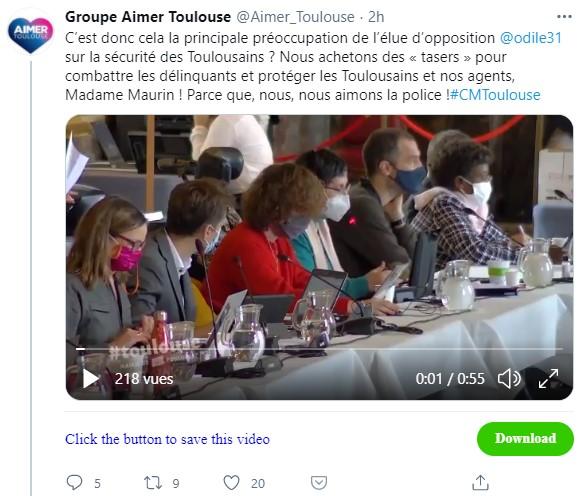 Conseil Municipal Toulouse 29 janvier 21 : mes interventions