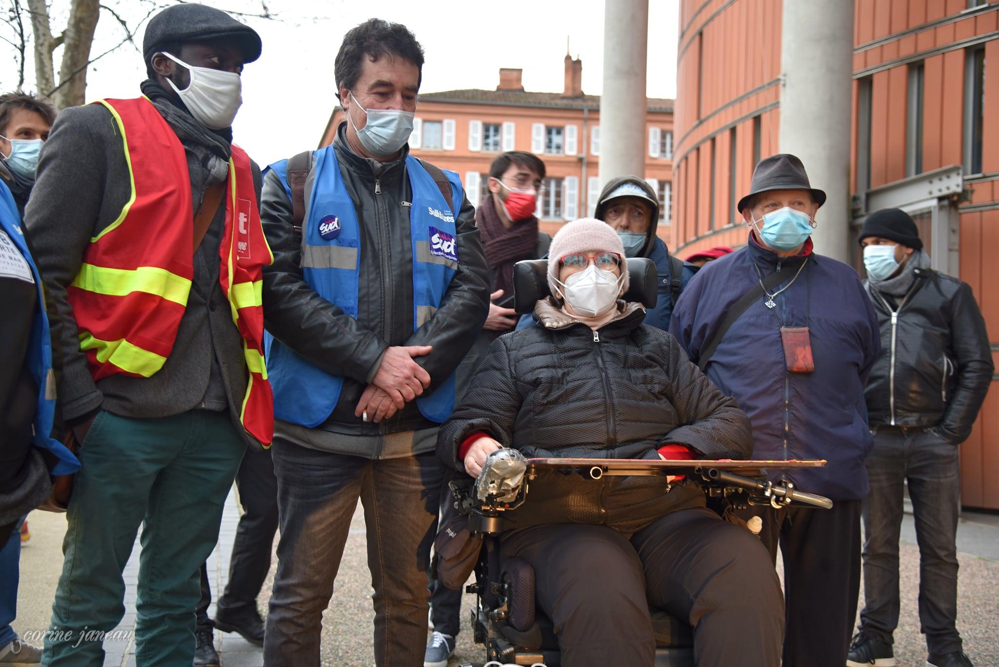 Rassemblement de soutien à Odile Maurin – TGI Toulouse vendredi 12 février 8h